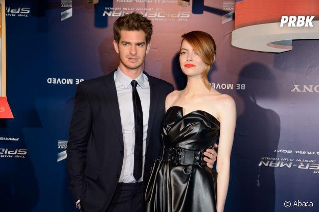 Emma Stone et Andrew Garfield se sont rencontrés sur le tournage d'un film