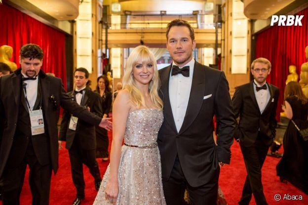 Anna Faris et Chris Pratt se sont rencontrés sur le tournage d'un film