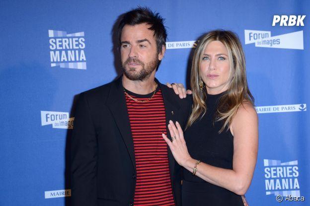Jennifer Aniston et Justin Theroux se sont rencontrés sur le tournage d'un film