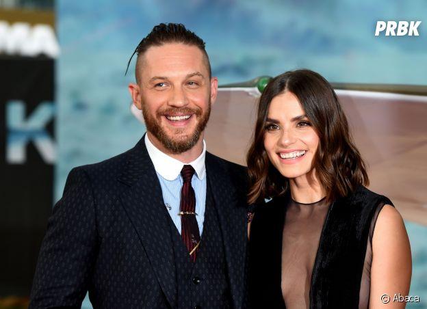 Charlotte Riley et Tom Hardy se sont rencontrés sur le tournage d'un film