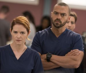 Grey's Anatomy saison 15 :Jesse Williams réclame le retourd'April (Sarah Drew)
