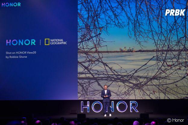 Honor a dévoilé son nouveau smartphone, le Honor View 20.