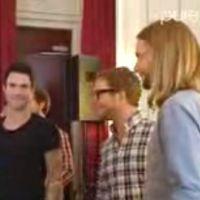La vidéo EXCLU de la pré-écoute du nouvel album du groupe Maroon 5