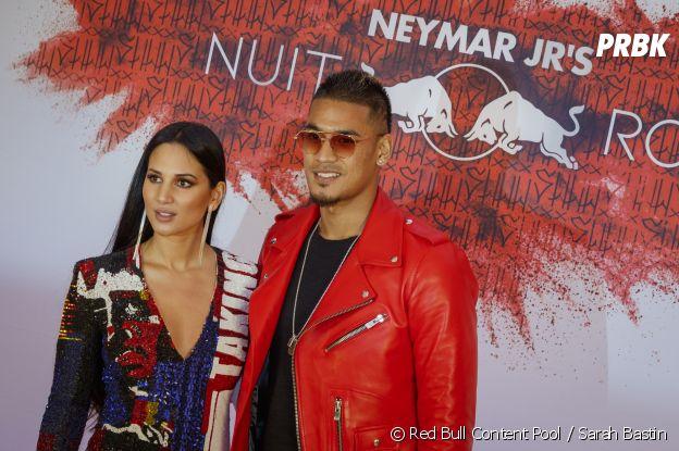 Alphonse Areola et sa femme à l'anniversaire de Neymar à Paris.