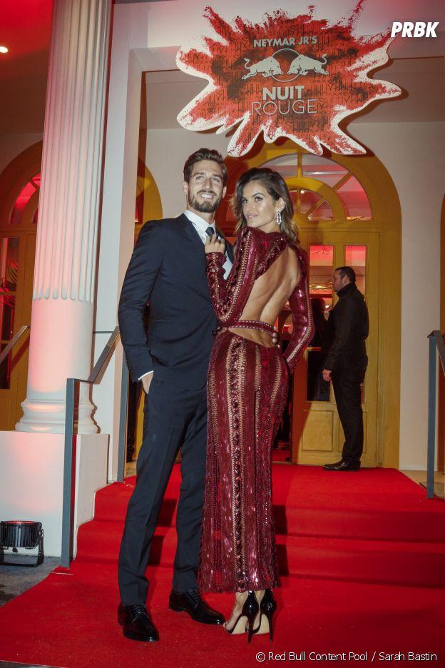 Kevin Trapp et Izabel Goulart à l'anniversaire de Neymar à Paris.