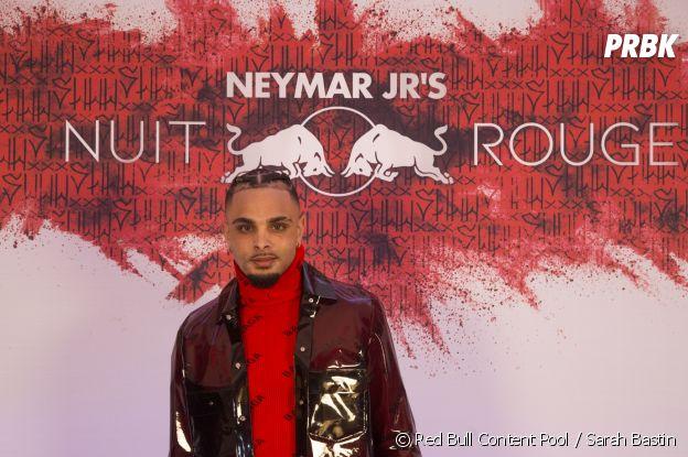 Layvin Kurzawa à l'anniversaire de Neymar à Paris.