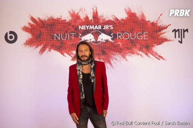 Bob Sinclar à l'anniversaire de Neymar à Paris.