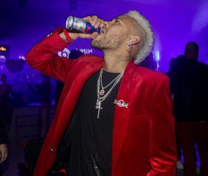 Neymar à sa soirée d'anniversaire à Paris.