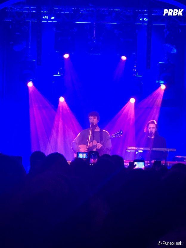 Alec Benjamin en concert à Paris