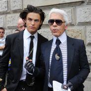 """Baptiste Giabiconi : son émouvant hommage à Karl Lagerfeld, son """"ange gardien"""""""