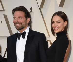 Irina Shayk et Bradley Cooper sur le tapis rouge des Oscars 2019
