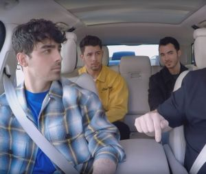 Les Jonas Brothers de retour : Nick, Joe et Kevin se prêtent au Carpool Karaoke de James Corden.