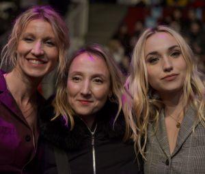 Audrey Lamy avec sa soeur Alexandra Lamy et sa nièce Chloé Jouannet