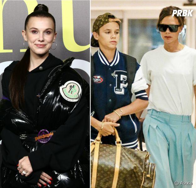 Millie Bobby Brown en couple avec Romeo Beckham ? Victoria Beckham valide