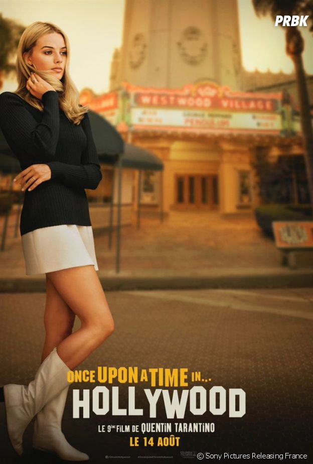 Once Upon a Time in Hollywood : l'affiche avec Margor Robbie
