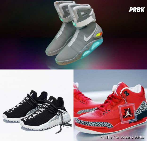 premium selection 59bf1 fab81 Nike, Air Jordan, adidas : le Top 10 des sneakers les plus ...
