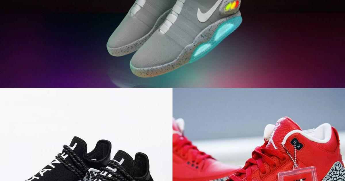 Nike, Air Jordan, adidas : le Top 10 des sneakers les plus
