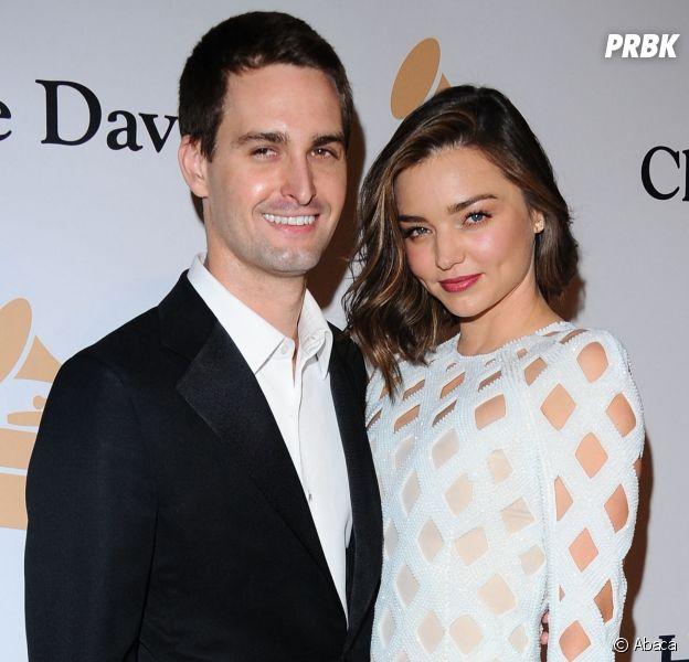 Miranda Kerr enceinte d'Evan Spiegel (fondateur de Snapchat) : il s'agira de leur deuxième enfant ensemble et du troisième pour la top (qui avait aussi eu un fils avec Orlando Bloom).