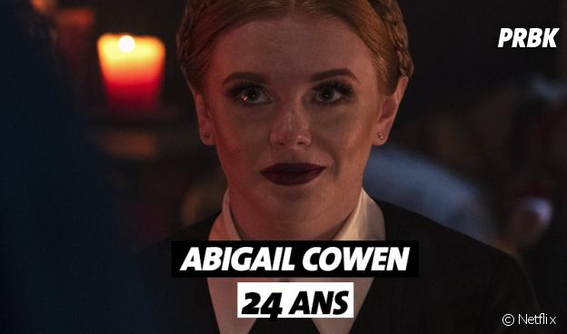 Les Nouvelles aventures de Sabrina : Abigail Cowen (Dorcas) a 24 ans