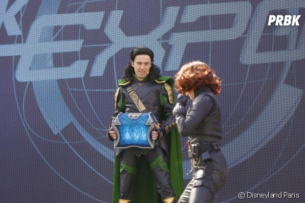 "Disneyland Paris : le spectacle ""Stark Expo : Place à l'Avenir !"" avec Loki et Black Widow"
