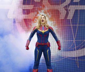 """Disneyland Paris : le spectacle """"Stark Expo : Place à l'Avenir !"""", avec Captain Marvel"""