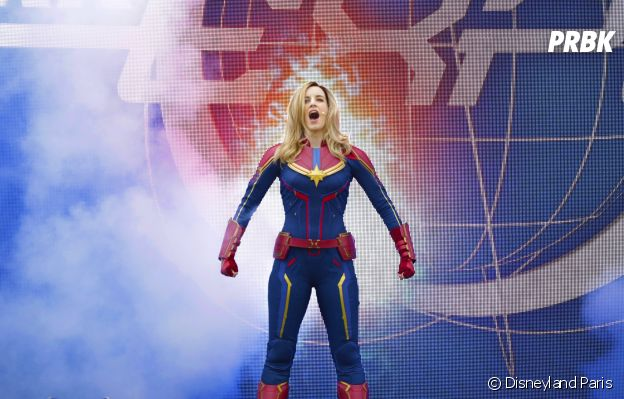 "Disneyland Paris : le spectacle ""Stark Expo : Place à l'Avenir !"", avec Captain Marvel"