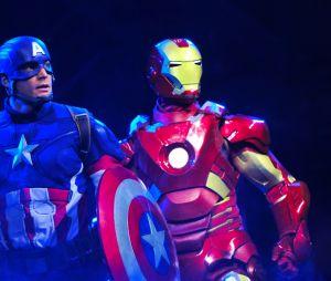 """Disneyland Paris : le spectacle """"Marvel : L'Alliance des Super Héros"""", avec Iron Man, Thor et Captain America"""