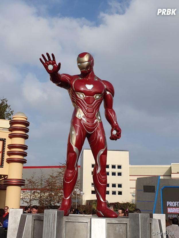 Disneyland Paris : la statue géante d'Iron Man