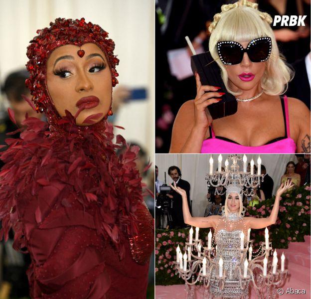 Cardi B, Lady Gaga, Katy Perry... votez pour la tenue la plus WTF du Met Gala 2019