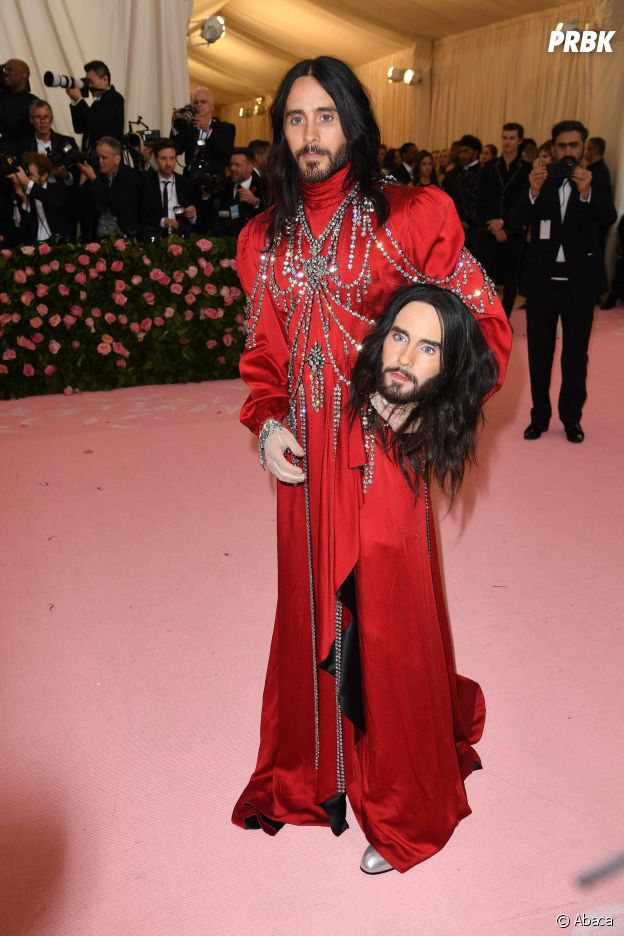 Jared Leto sur le red carpet du Met Gala 2019