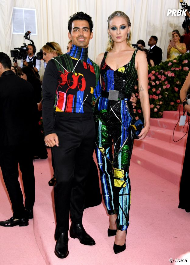 Joe Jonas et Sophie Turner sur le red carpet du Met Gala 2019