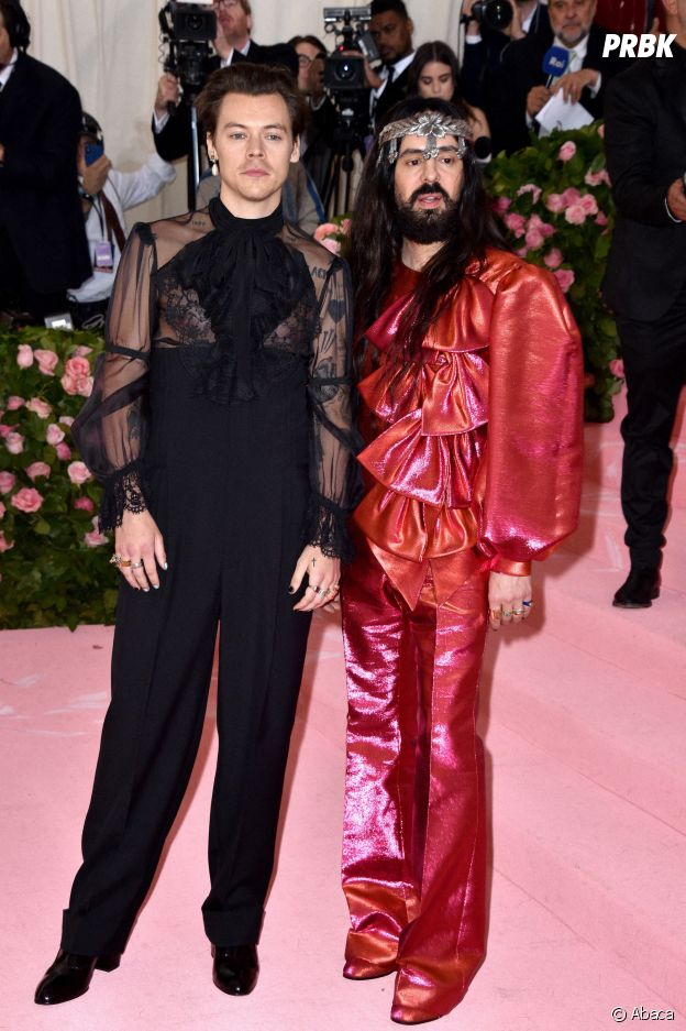 Harry Styles sur le red carpet du Met Gala 2019