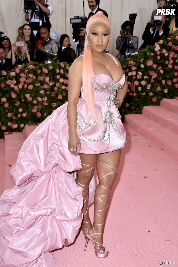 Nicki Minaj sur le red carpet du Met Gala 2019