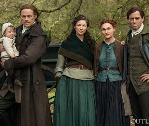 Outlander saison 5 : une nouvelle photo de la famille Fraser dévoilée