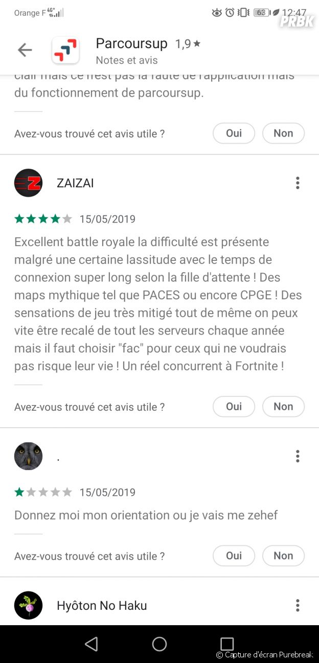 Parcoursup : les lycéens comparent l'appli à Fortnite, Game of Thrones ou encore Disneyland