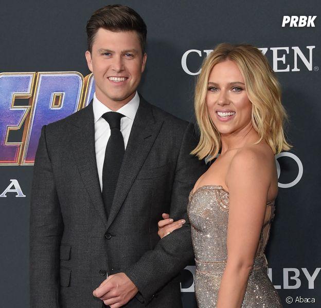 Scarlett Johansson fiancée à son petit ami Colin Jost