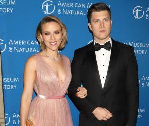 Scarlett Johansson s'est fiancée à Colin Jost