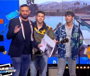 Jonas Brothers présents sur le plateau de TPMP le 20 mai 2019 sur C8