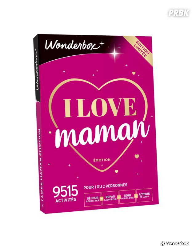 "La Wonderbox ""I Love Mom Emotion"""