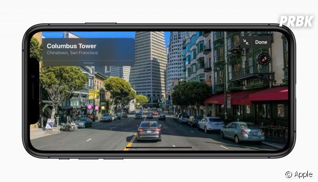Apple améliore Plans sur iOS 13