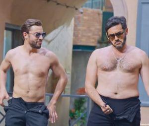 Plus belle la vie : Abdel, Francesco, Léo... triple strip-tease sexy au Mistral