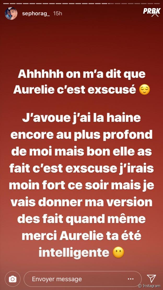 Sephora (Les Anges 11) réagit aux excuses d'Aurélie Dotremont