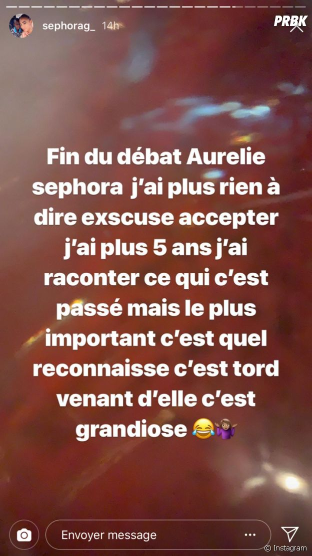 Sephora (Les Anges 11) s'exprime après son clash avec Aurélie Dotremont