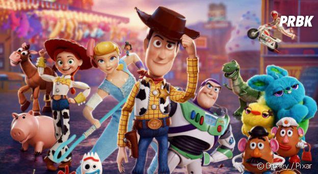 Toy Story 4 actuellement au cinéma.