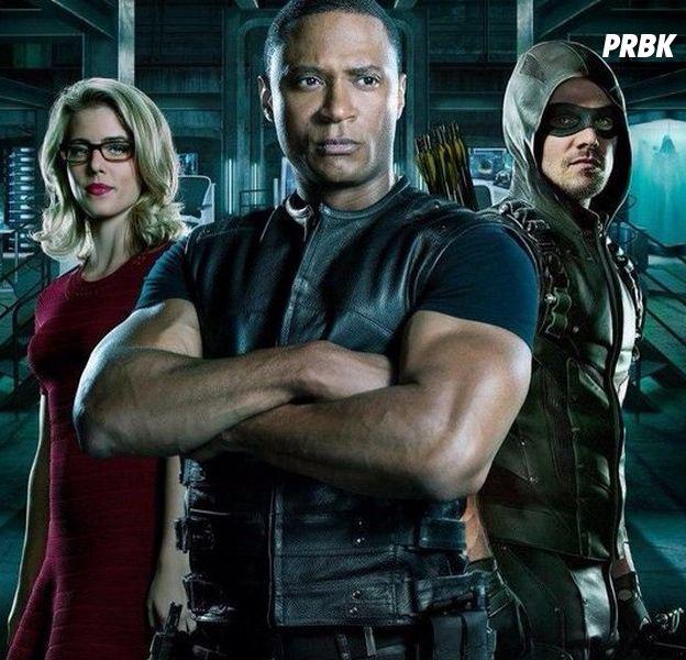 """Arrow saison 8 :Stephen Amell (Oliver) promet une """"happy ending"""" pour la série"""