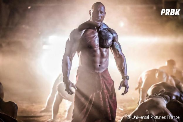 Dwayne Johnson dans Hobbs and Shaw.