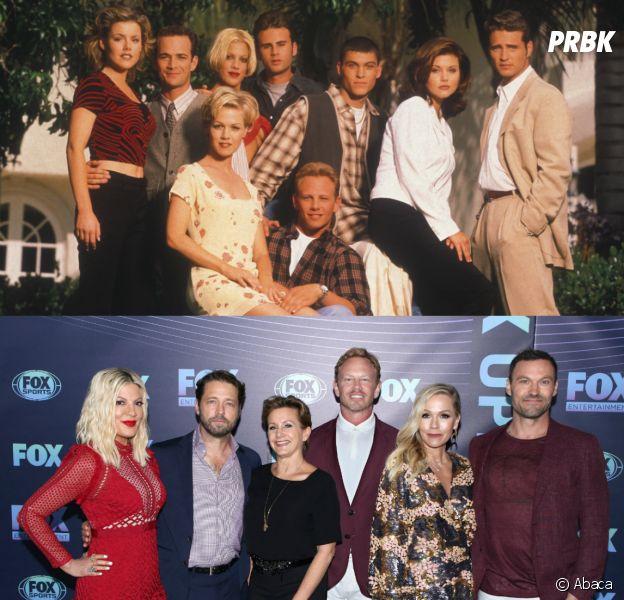 Tori Spelling, Jennie Garth... les stars de Beverly Hills 90210 au début de la série VS aujourd'hui