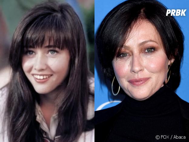 Beverly Hills 90210 : Shannen Doherty (Brenda) au début de la série VS aujourd'hui