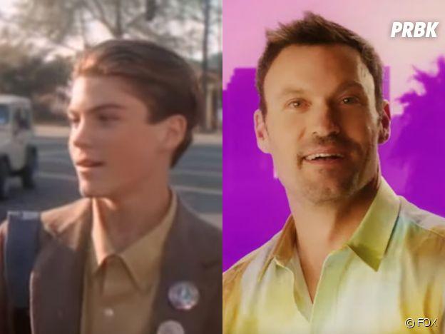 Beverly Hills 90210 : Brian Austin Green (David) au début de la série VS aujourd'hui
