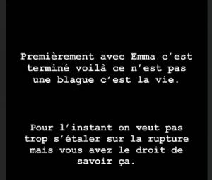 """Emma CakeCup : Vlad Oltean annonce leur rupture """"C'est terminé"""""""